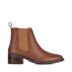 NWOT EMU Ellin Merino Wool Boot Ladies in Oak